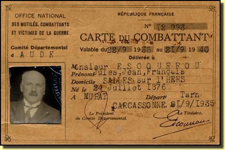 delai obtention carte du combattant France   Croix Combattant