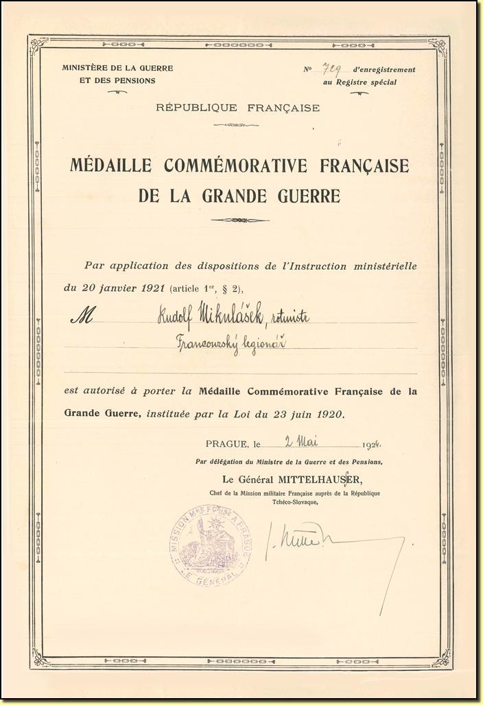 Extrêmement France - Commemorative 14-18 NU88
